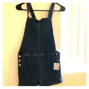 NWT Free People Overall Shorts